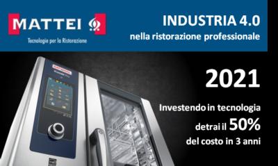 Industria 4.0 nella ristorazione professionale