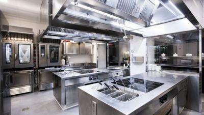 Cucina monoblocco professionale Berto's